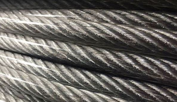 Cáp thép mạ kẽm bọc nhựa (dây cáp lụa mềm)